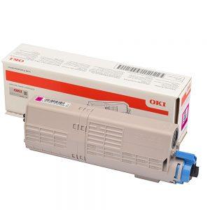 Toner purpurový 46490402 (1500 strán)