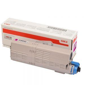 Toner purpurový 46490606 (6000 strán)